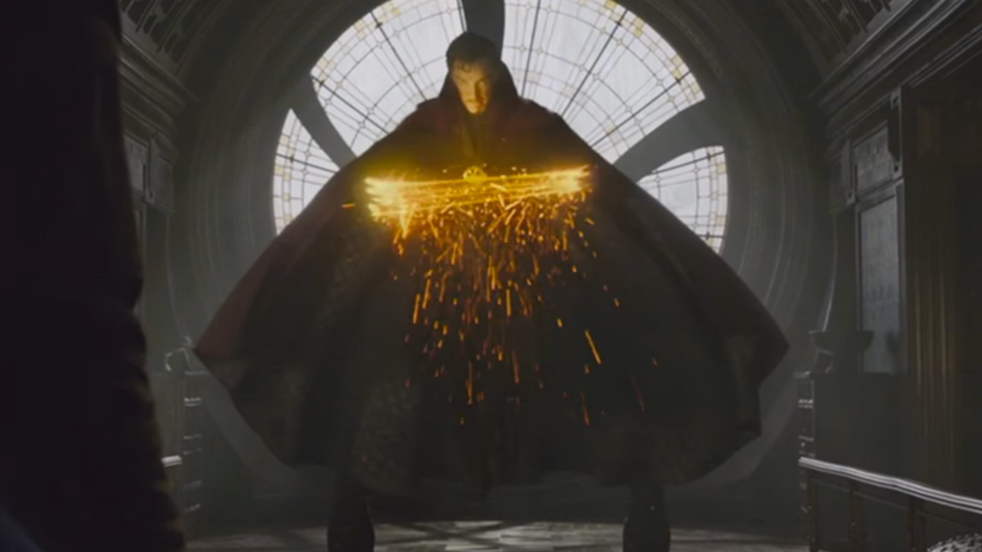 3 DOCTOR STRANGE Promos Focus On The Cloak Of Levitation The Avengers As Dogs And IMAX