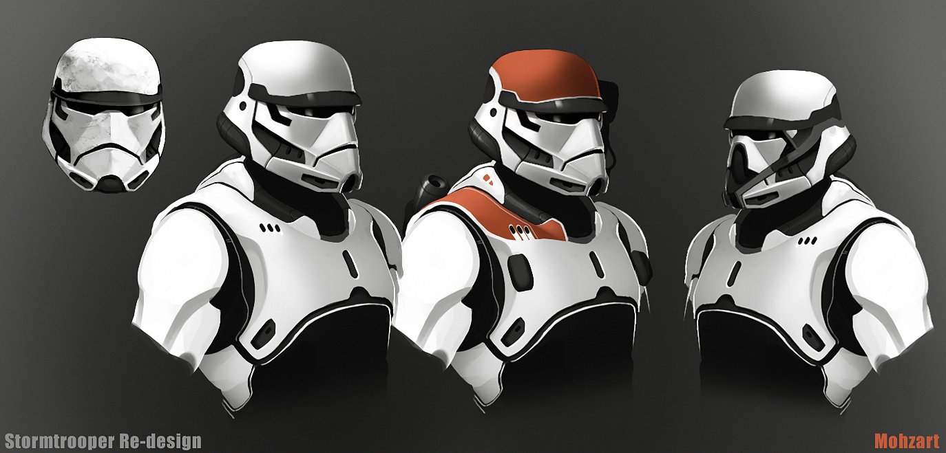 Order Art First Concept Stormtrooper