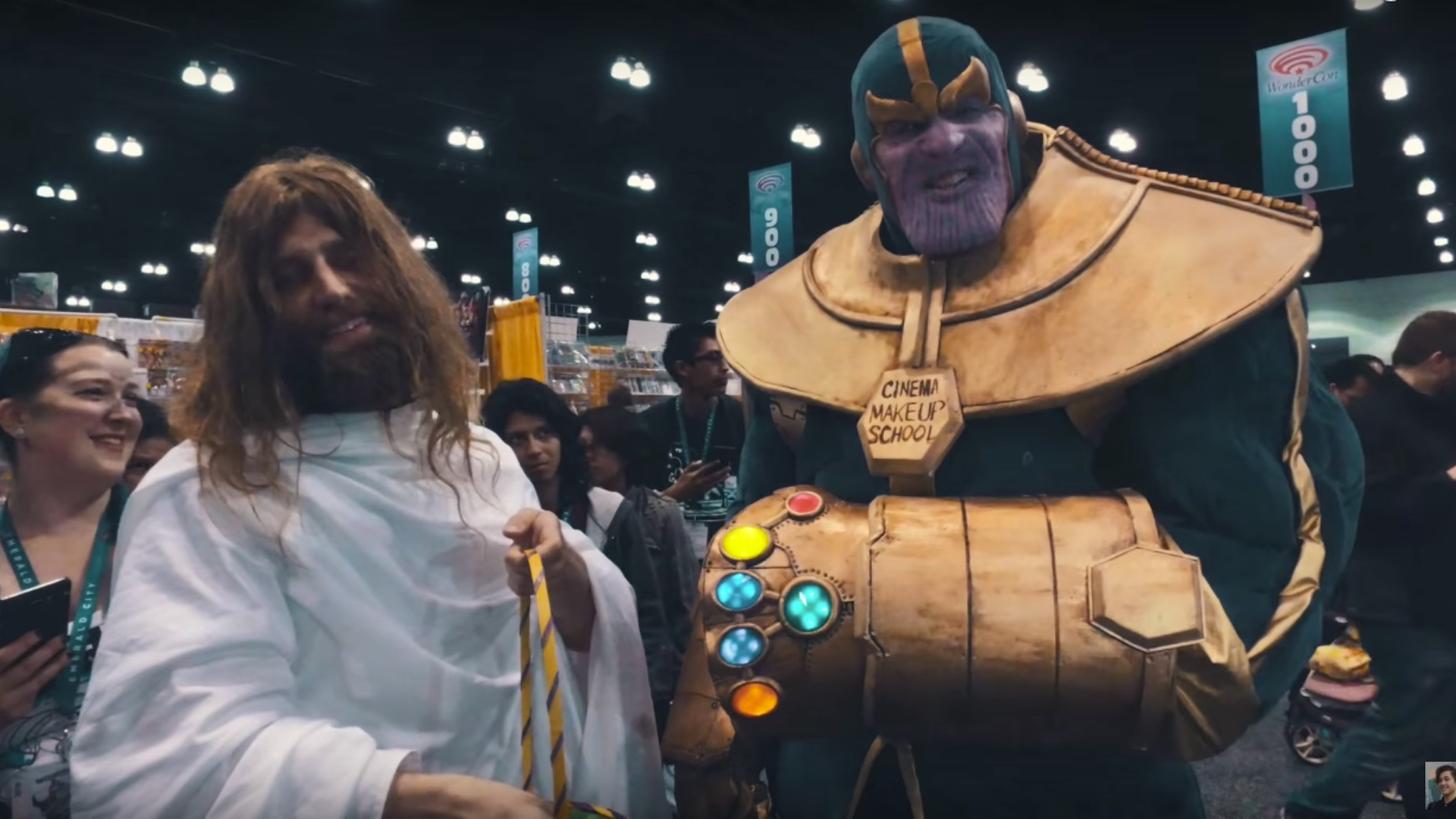 Insanely Cool Thanos Cosplay From WonderCon GeekTyrant