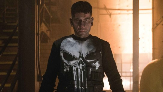 The Punisher Jon berthnal face off