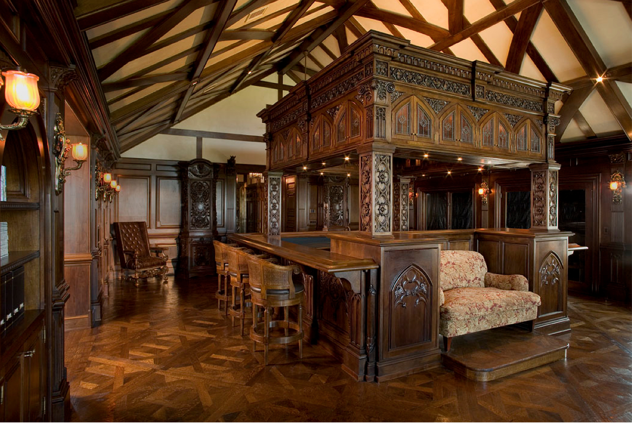 Gothic Bar Custom Furniture Amp High End Woodwork In The