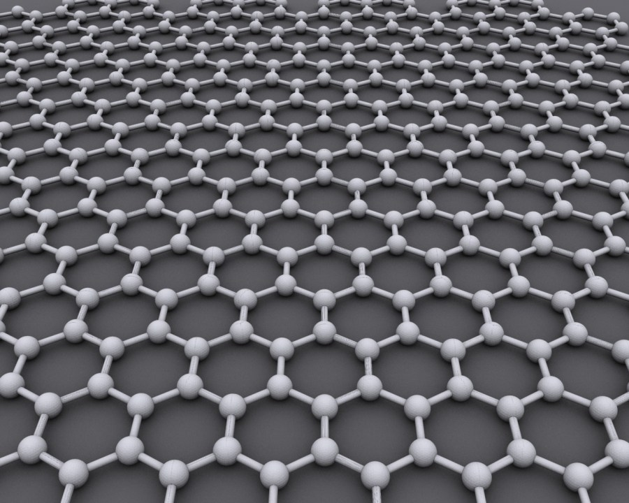 Graphene. Wikicommons.