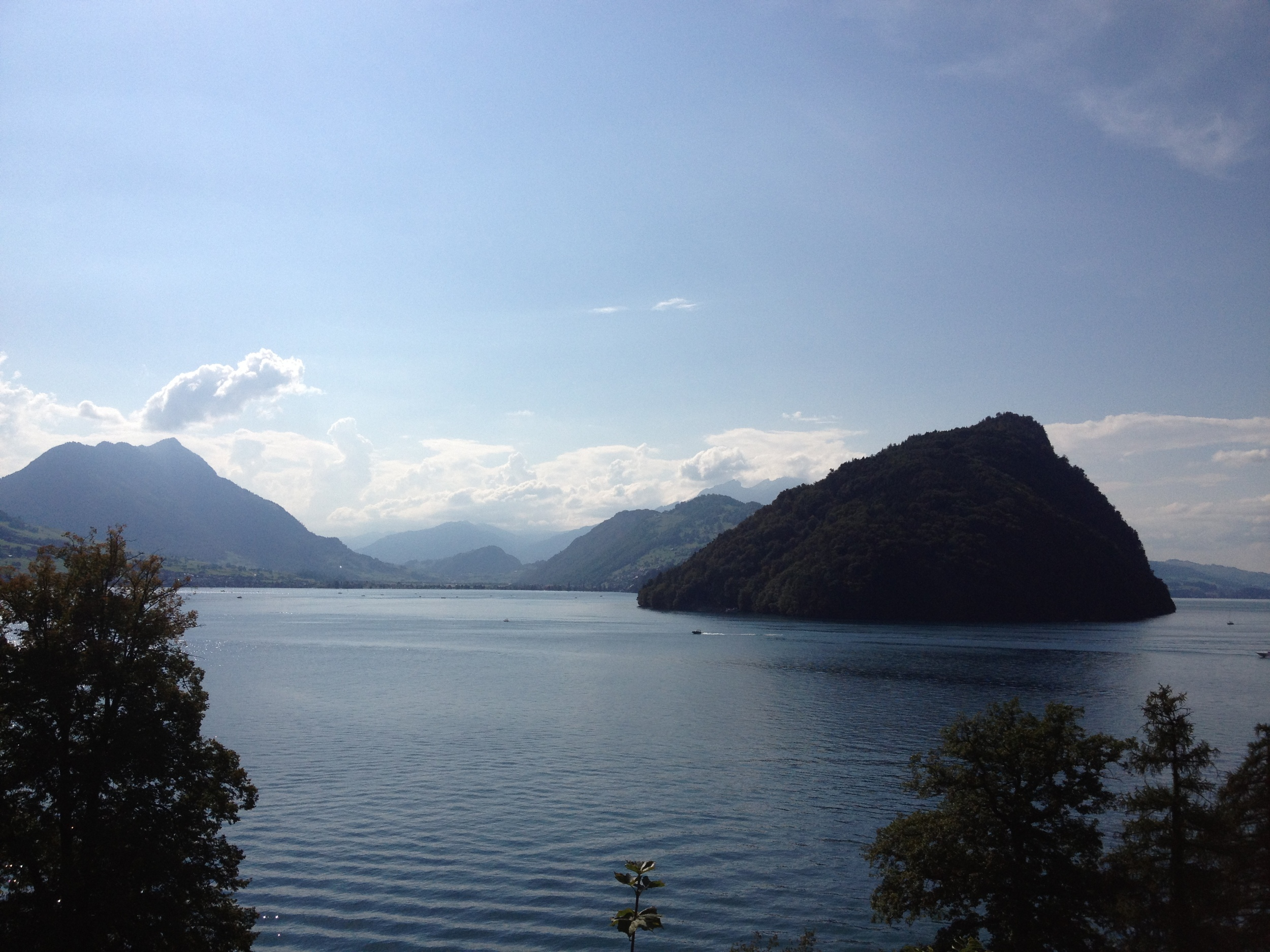 A view of theVierwaldstättersee