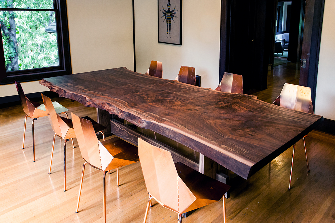 Live Edge Piedmont Dining Table Lands In San Francisco