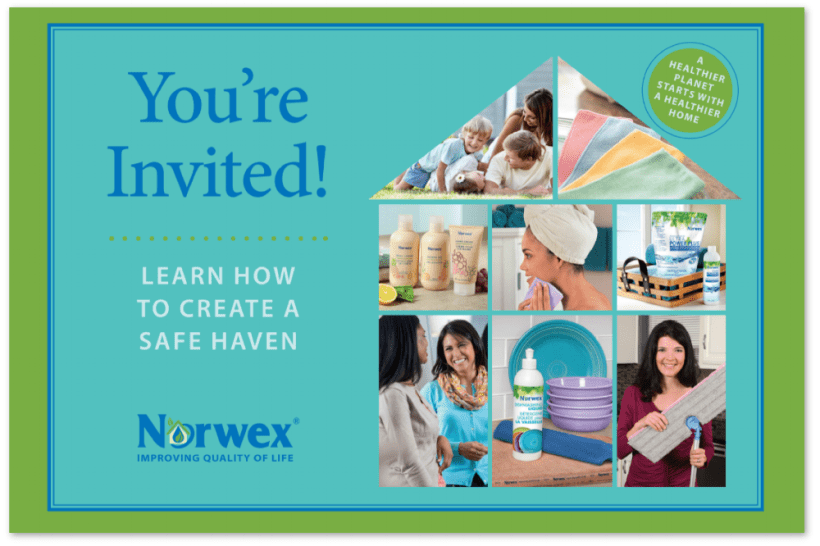 Invitation Norwex Party Png