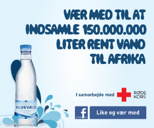 Translation of this online banner for Coke's Kildevæld brand: