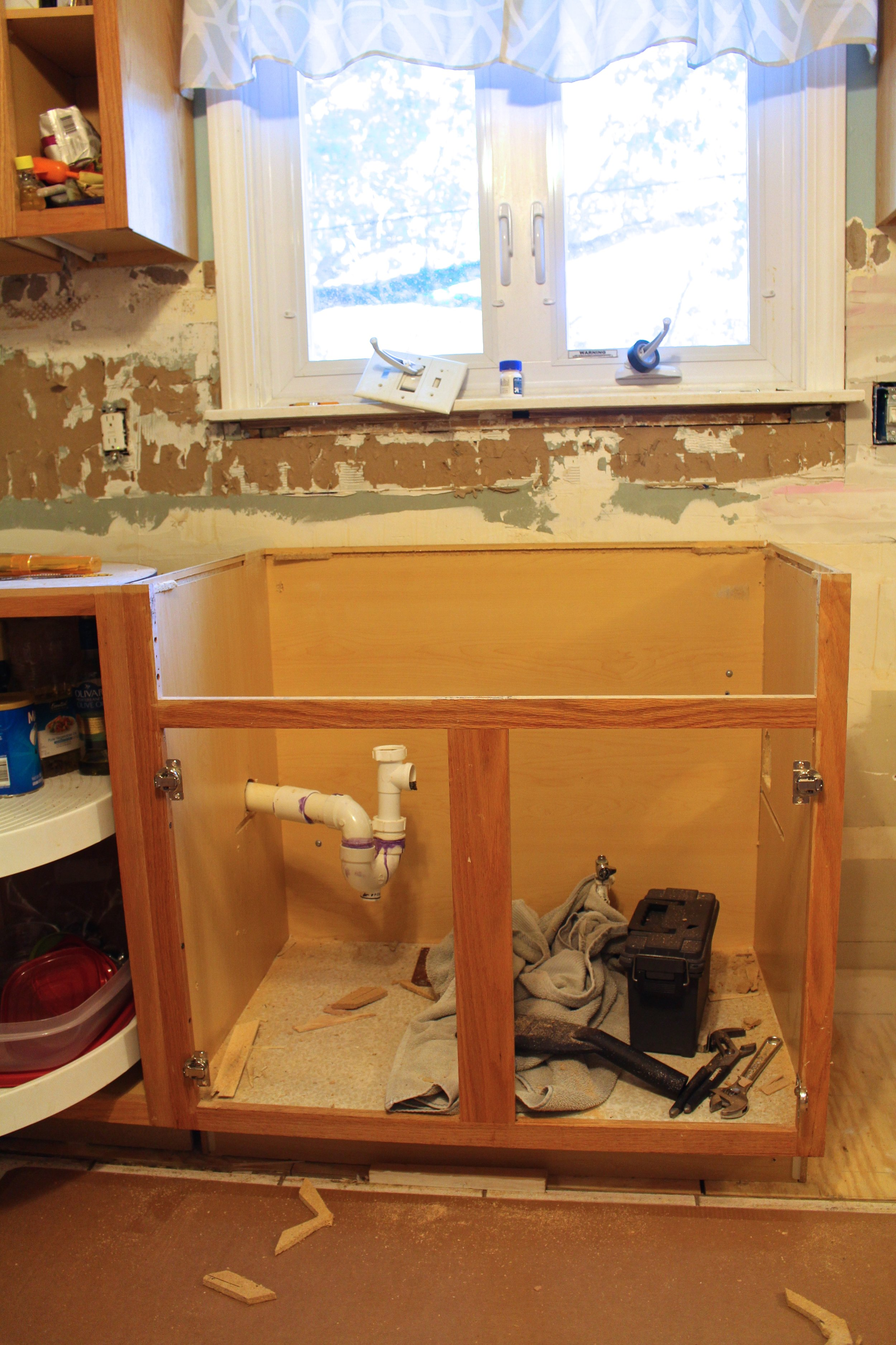 Installing An Ikea Farmhouse Sink Weekend Craft