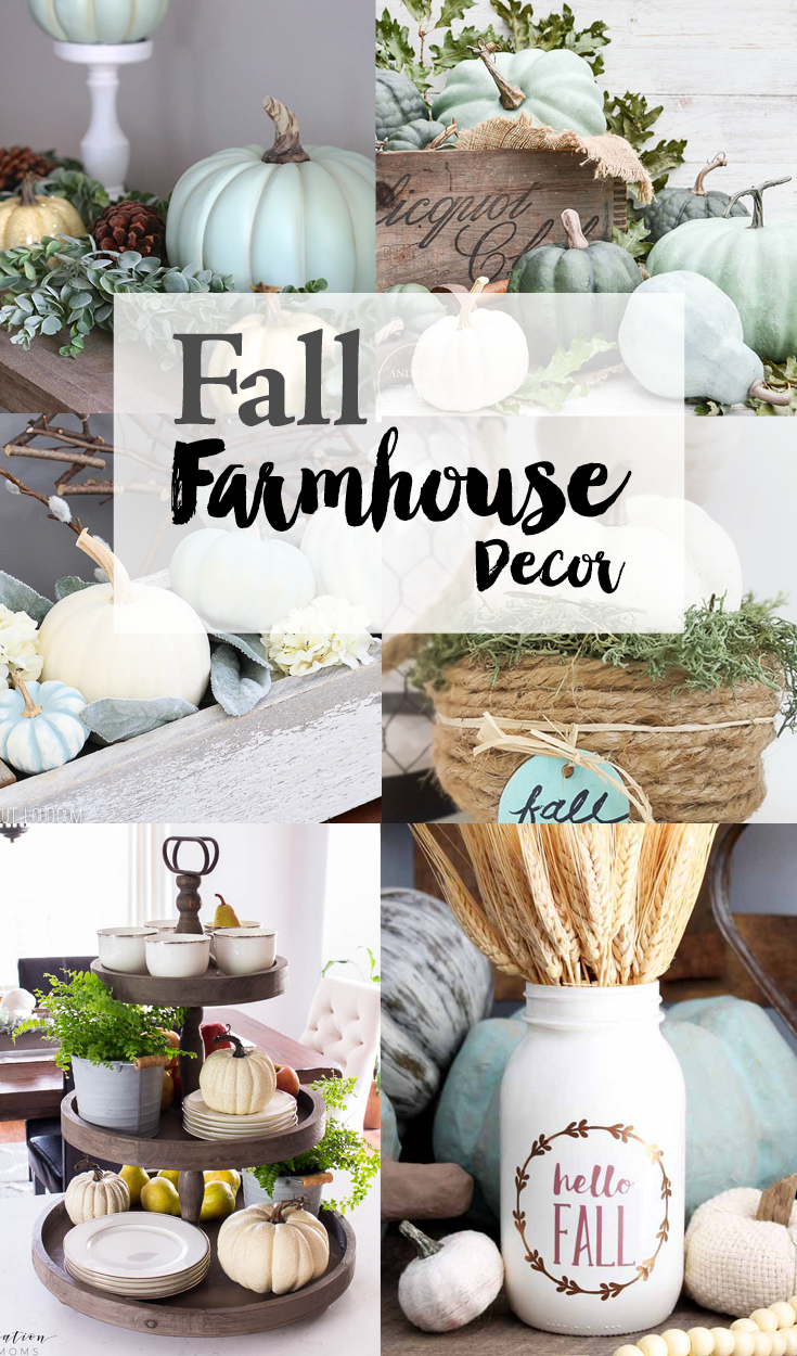 Fall Farmhouse Decor Weekend Craft