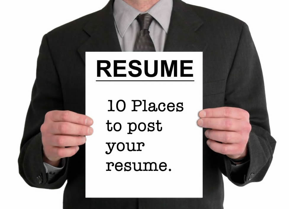10 sites to post your resume online careercloud