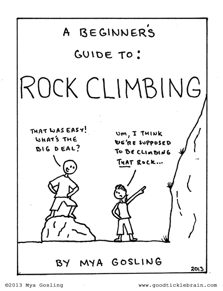 Rock Climbing Good Tickle Brain