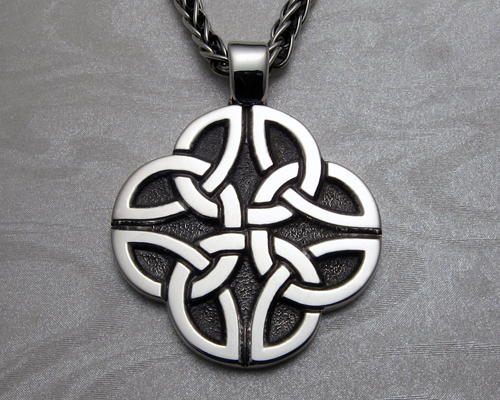 Celtic Dara Knot Pendant Custom Made Metamorphosis