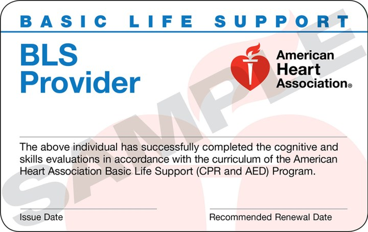 I Lost My Cpr Certification Card American Heart Association Cardbk