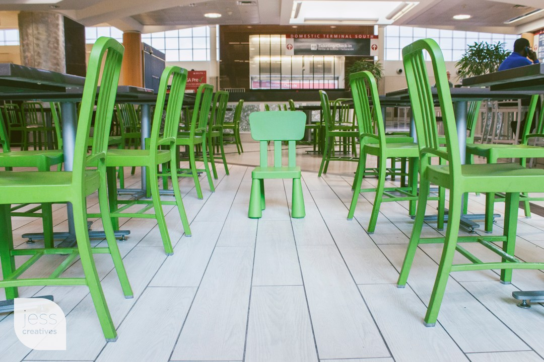 We should start a Green Chairs Anonymous.