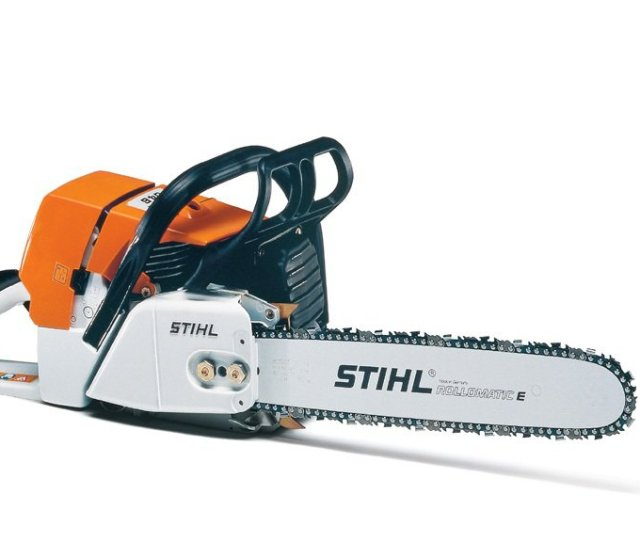 Worlds First Catalytic Converter For Two Stroke Engines It Reduced The Level Of Harmful Emissions By 70 80 The Stihl 044 C Is The First Chain Saw