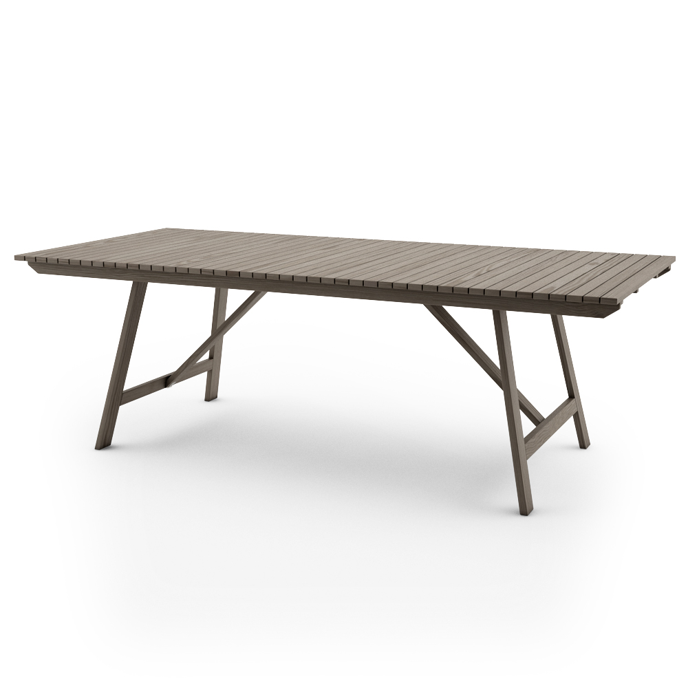 Ikea Sundero Table X Grey