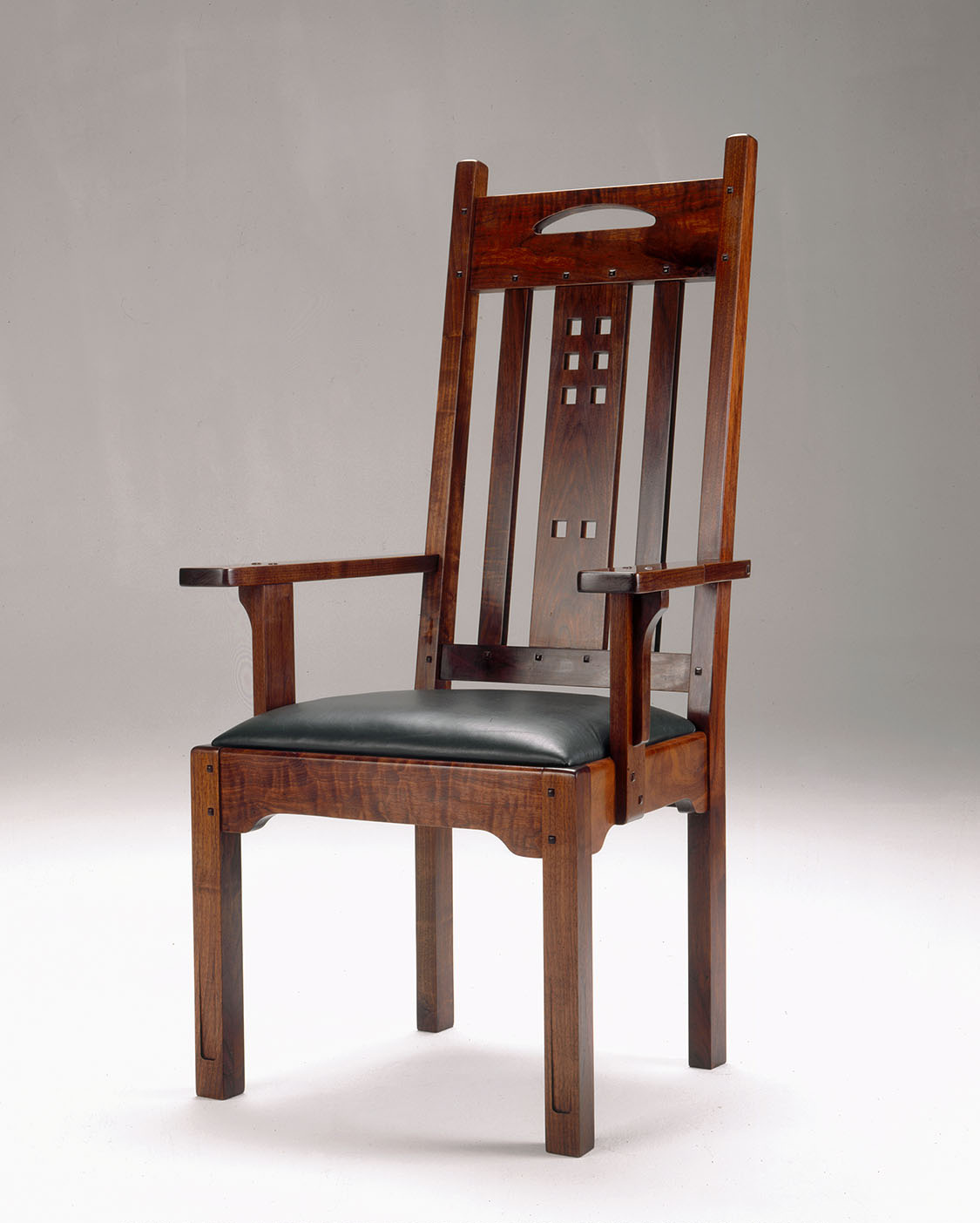 Best Kitchen Gallery: Lohr Arm Side Dining Chairs Lohr Woodworking Studio of Dining Chairs With Arms  on rachelxblog.com