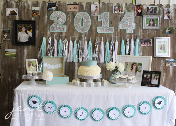 Stylish Ideas For A Graduation Party Jen T By Design