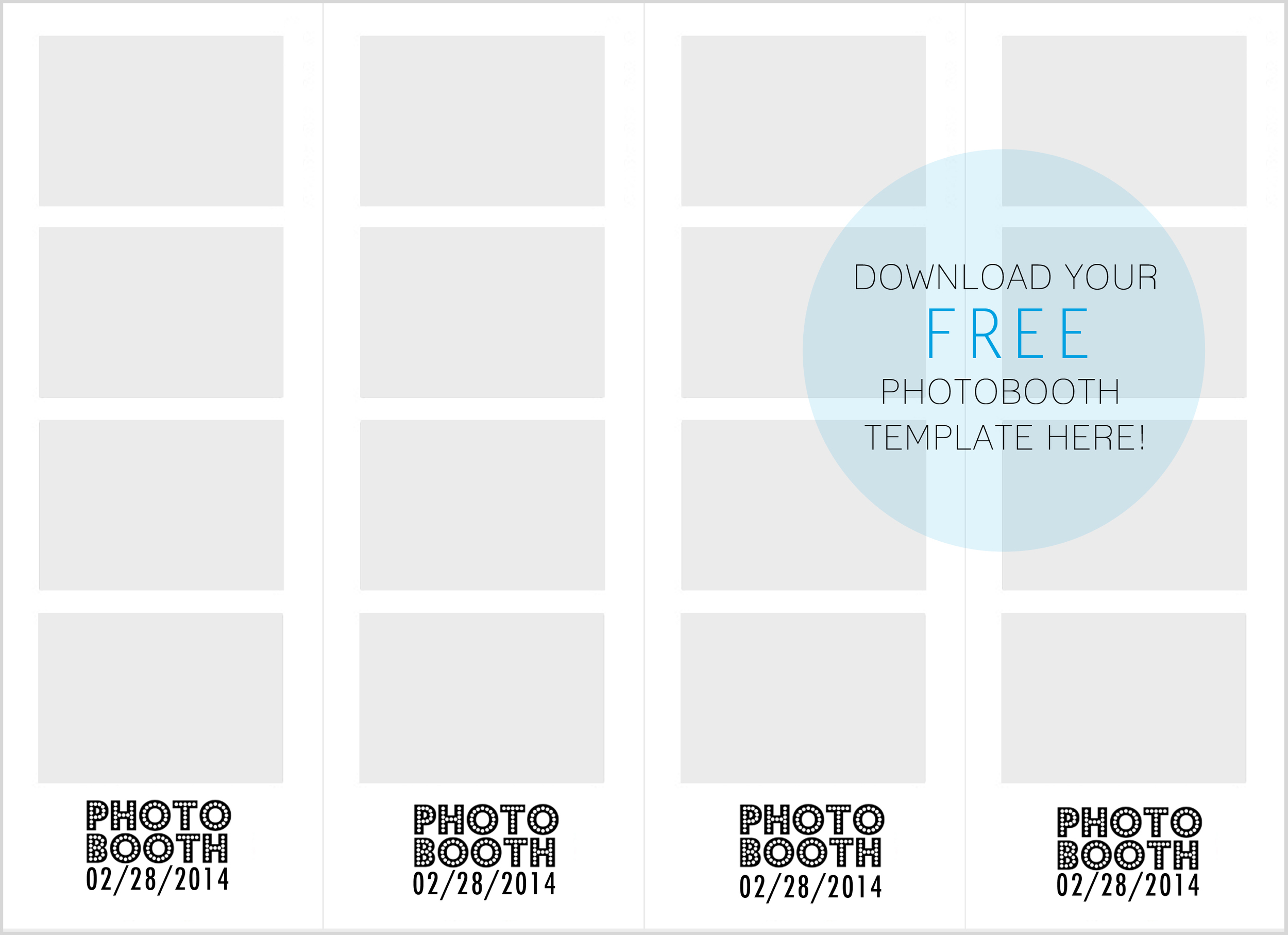 5 PHOTO BOOTH FRAME TEMPLATES FREE DOWNLOAD, BOOTH PHOTO TEMPLATES ...