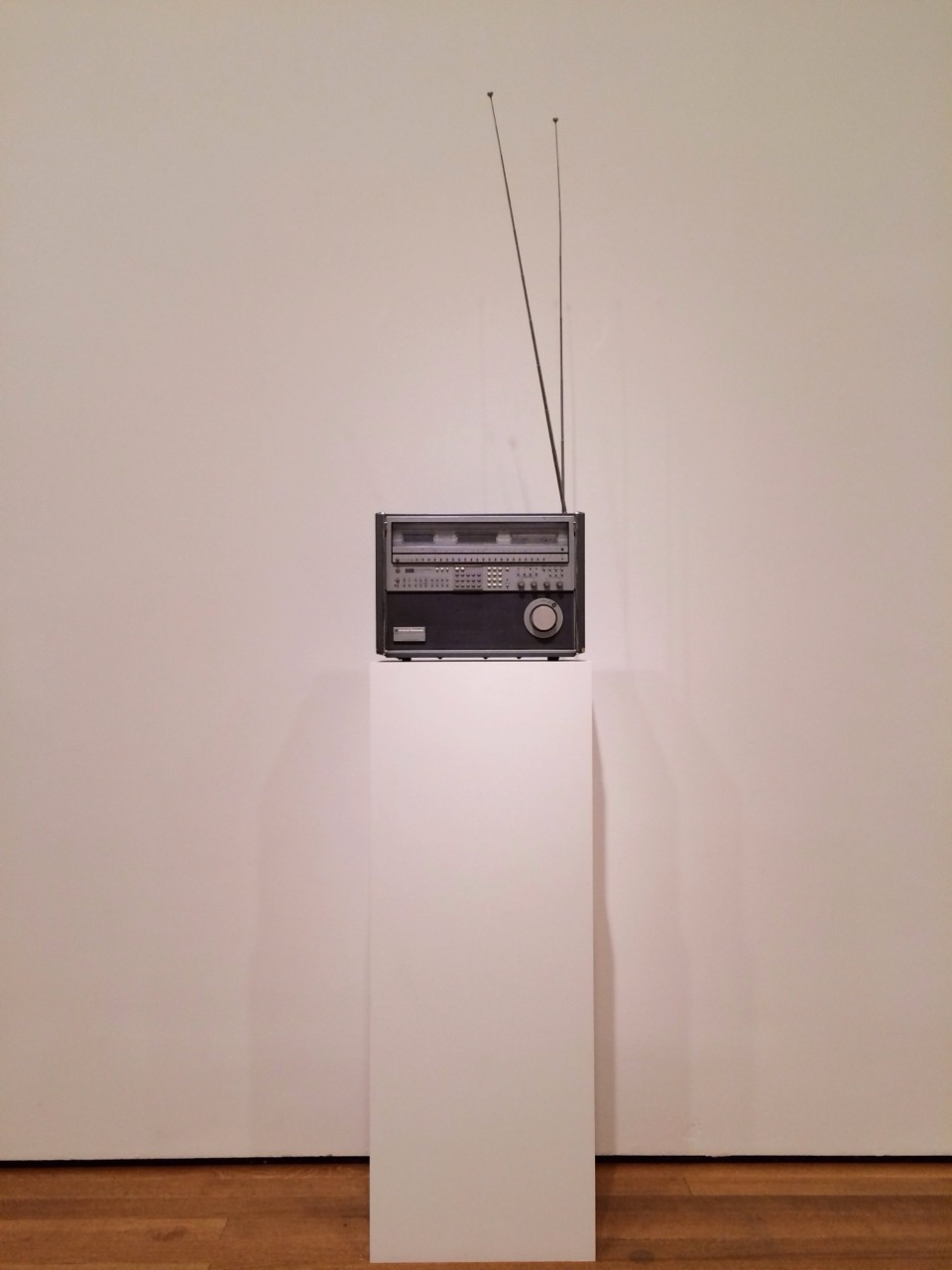 """""""A sculpture must be at least as modern as the most modern hi-fi systems."""" - Isa Genzken I visited her exhibit today at the Museum of Modern Art."""