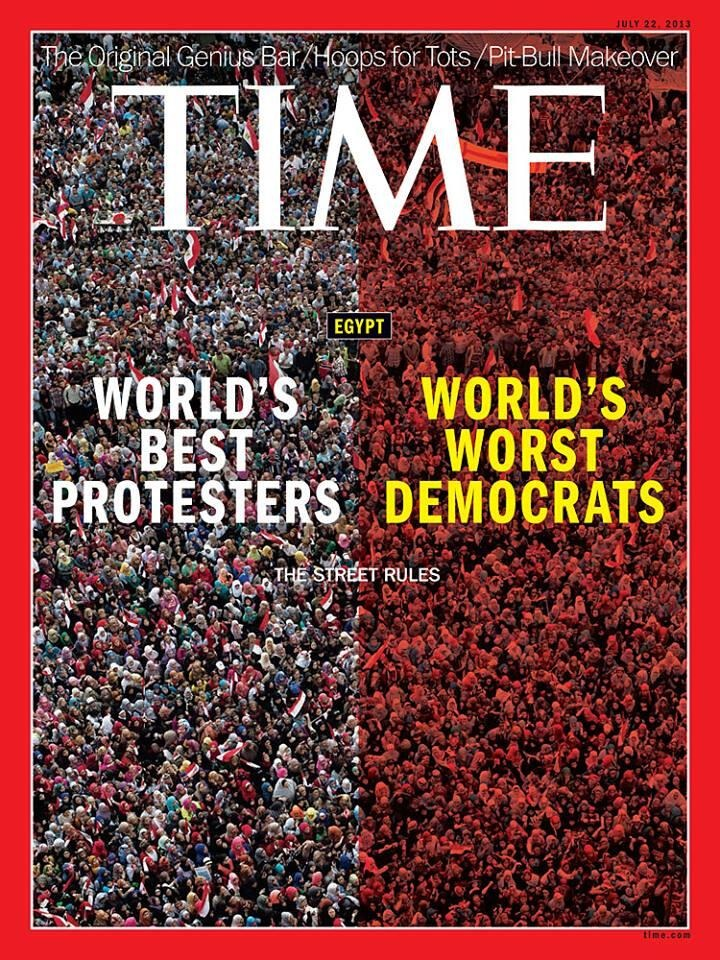 Time Magazine Cover on Egypt