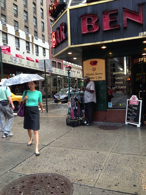 Ben on Flickr. Via Flickr: Still yet to make a street umbrella purchase.