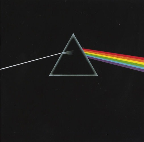 """What was perhaps his best-known image was something of an anomaly. For the 1973 Pink Floyd album, """"The Dark Side of the Moon,"""" prompted by a request from a band member for something """"graphic, cool and deliberate,"""" he created the suggestion of a triangular prism against a black background, an image of brilliant light refraction that became a symbolic reference to the band. RIP Storm Thorgerson, Album Designer for Pink Floyd, Led Zeppelin, et al. Thorgerson beautifully matched the emotion of music to his LP designs. He made album art, art; as amazing as the music itself, if not more."""