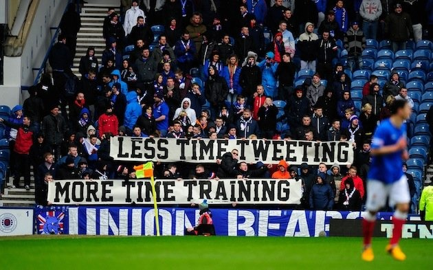 foxsoccer: Tweet Police The era of distraction is getting in the way of practice.  The same can be said for just about anyone in any occupation though.  Even students. How we do we add to the conversation without getting sucked in?