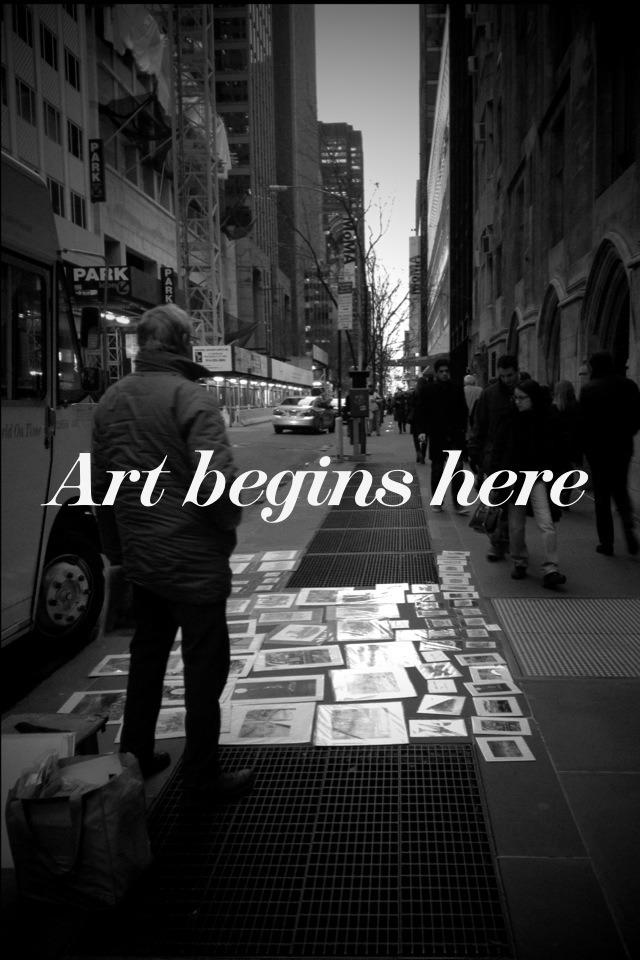 art-dacity: Art begins here