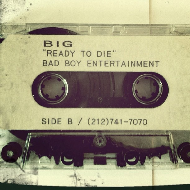 The original cassette from @iamdiddy B.I.G. RIP @lilcease -  Rob Stone It was all a dream…
