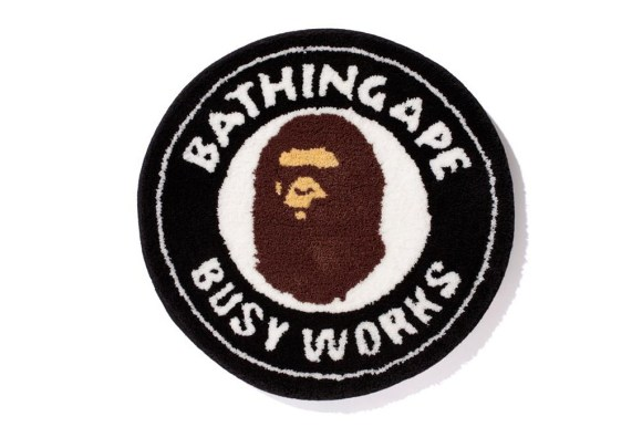 The busier you are, the less stuff you have to worry about. Bape Rug