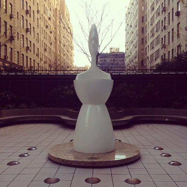 """IKON"" by David Hostetler (at 330 West 56th Street)"