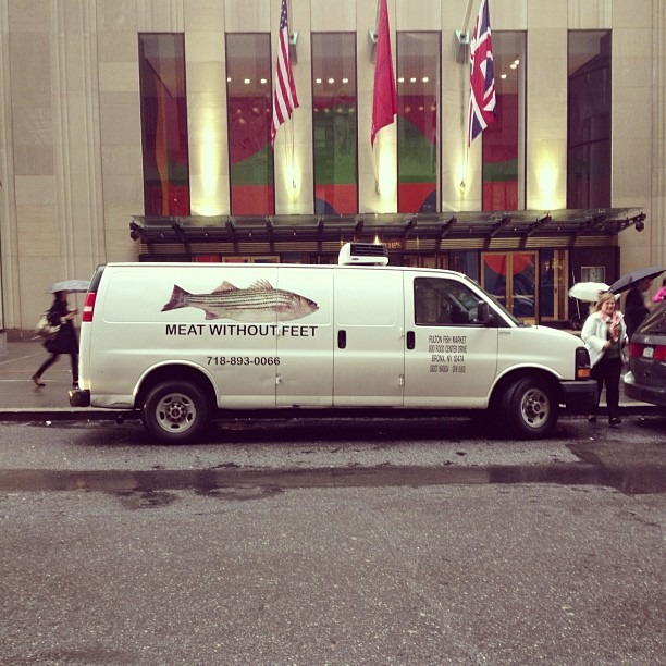 Meat Without Feet (at 30 Rockefeller Plaza)