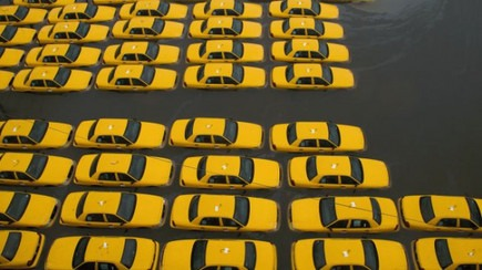 NYC Taxis meet hurricane, a bizarre event.  (via Dave Pell)