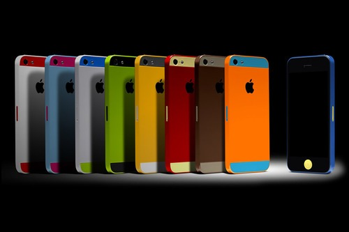 Dreaming in iPhone colors.