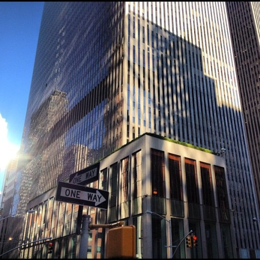 """""""Vitality is radiated from exceptional art and architecture."""" - Arthur Erickson (Taken with Instagram at 1221 Avenue of the Americas)"""