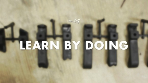 Learn by doing. Jump off the cliff and build the plane on the way down. - Dan Martell