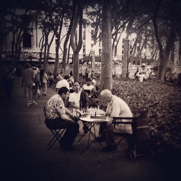 Chess (Taken with Instagram at Bryant Park)