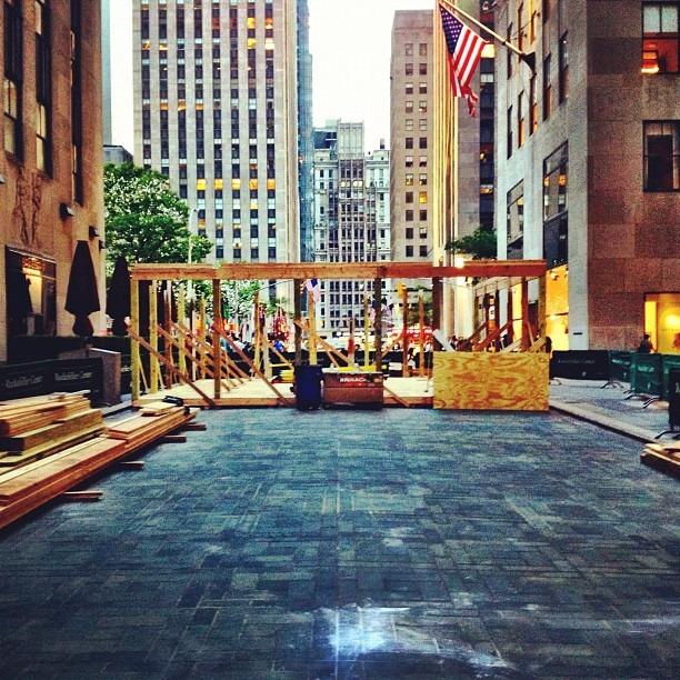 The Foundation (Taken with Instagram at Rockefeller Plaza Studio 7E)