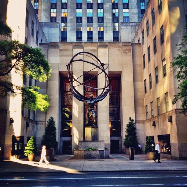 Taken with Instagram at Rockefeller Center