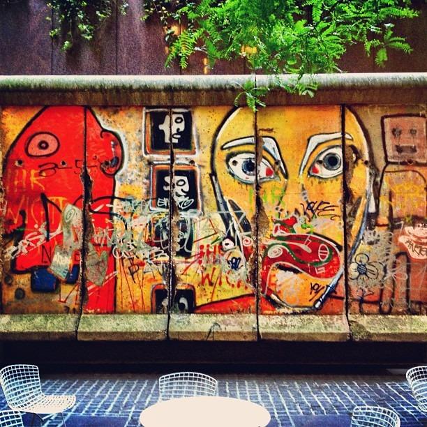 Alien Street Art (Taken with Instagram at 325 West 57th St)