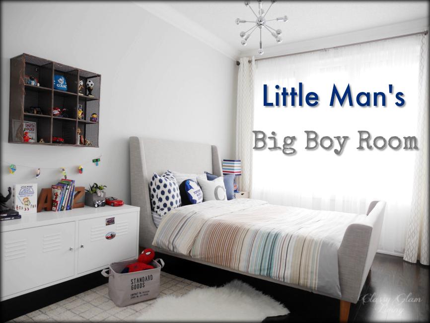 Little Man's Big Boy Room Reveal