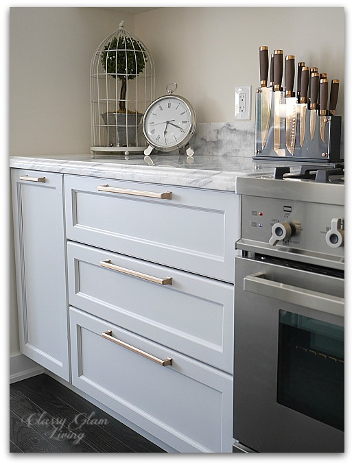 Kitchen Update DIY Pots And Pans Drawers Classy Glam
