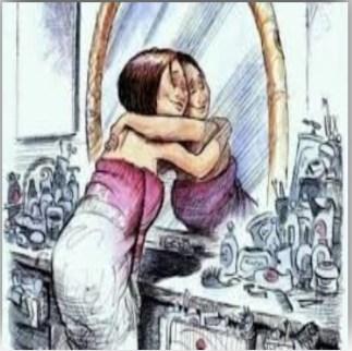 Risultati immagini per accettarsi allo specchio