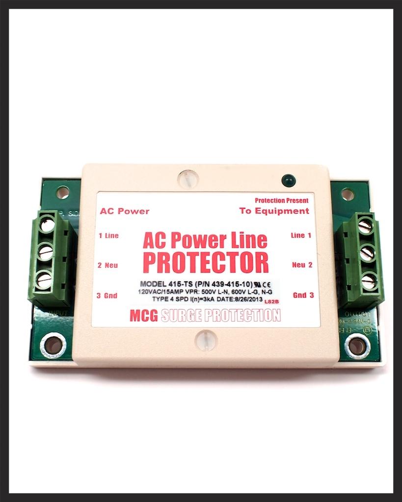 AC Surge Protection MCG Surge Protection