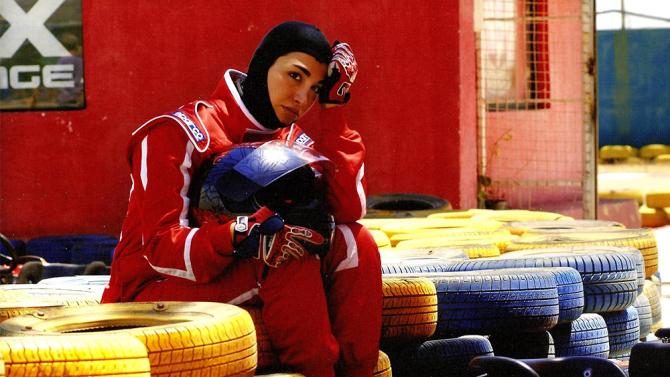 Iranian race-car driver Laleh Seddigh