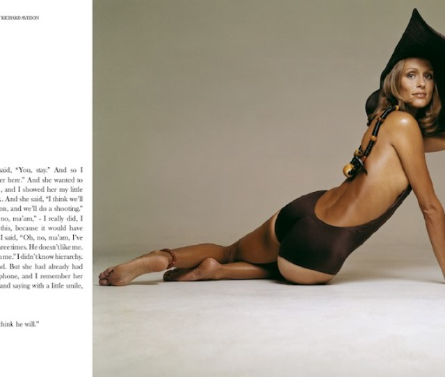 Chapter  Outtakes By Richard Avedon