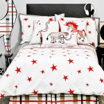 Punk Rock Jungle Animals Bedding Sets Red Rachel Kate Design