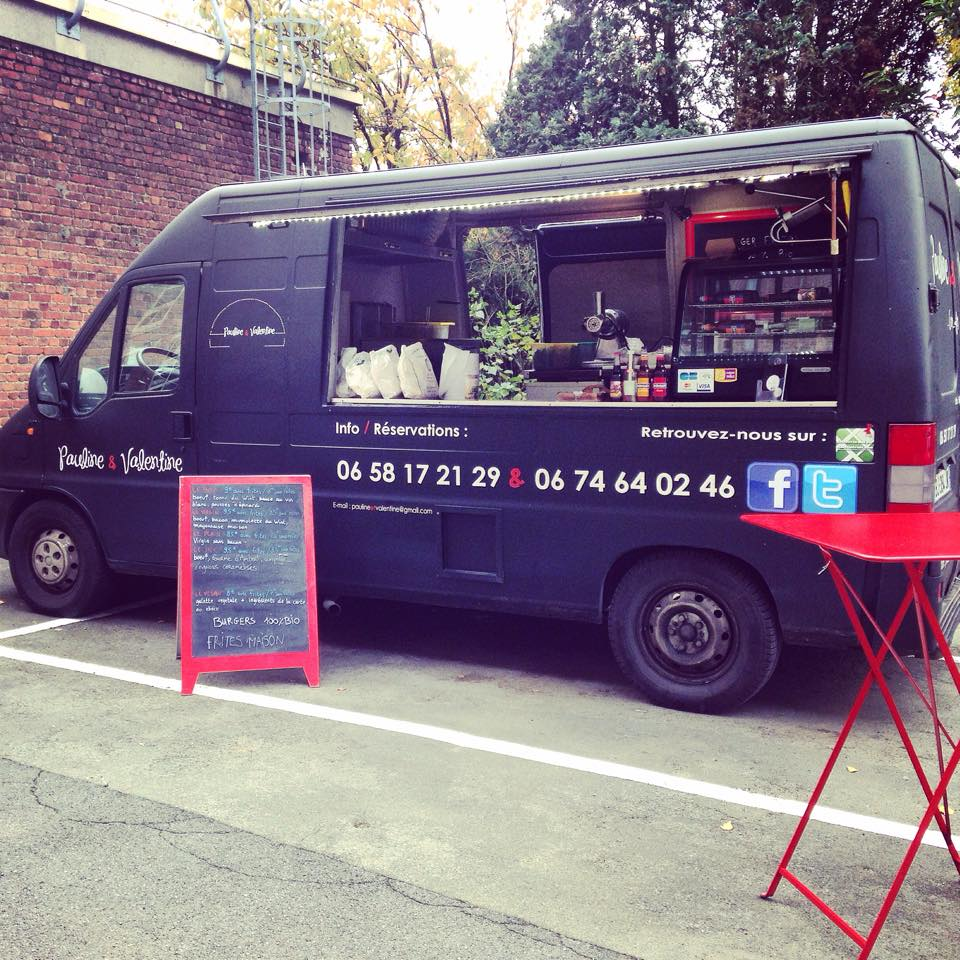 Pauline Amp Valentine Food Truck 100 Bio Lille 59