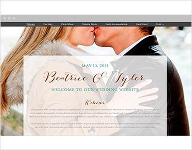 Set up your own wedding website  no computer science degree required     wedding website ss 2 jpg