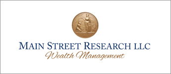 Since 1993,  Main Street Research LLC individuals and institutions have turned to the professionals at Main Street Research for investment and wealth management expertise. Whether you and your family have private wealth or you are an institutional investor, we are committed to understanding your expectations and applying them to a carefully developed, long-term strategy.